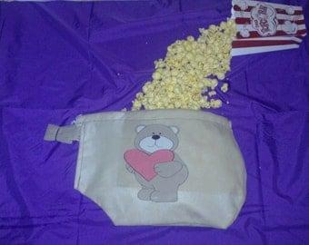 Love Bear Popcorn Hood