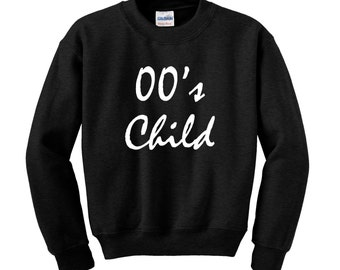 Personalised Slogan Sweatshirt / Jumper Custom NOUGHTIES CHILD Birthday Present