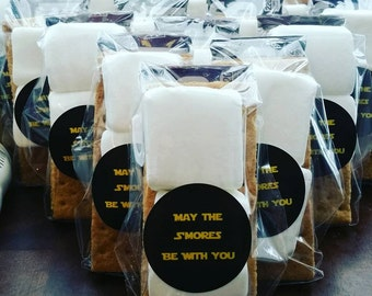 May The Smores Be With You Party Favor Star Wars