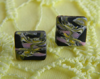 Fimo Marbled Squares