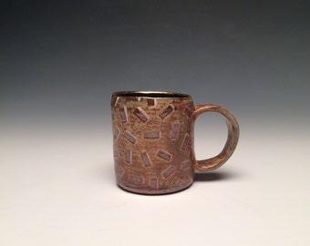 80's sprinkle pattern mug