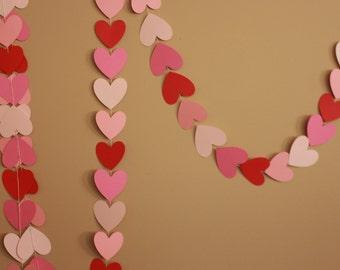 10 FEET HEART GARLAND
