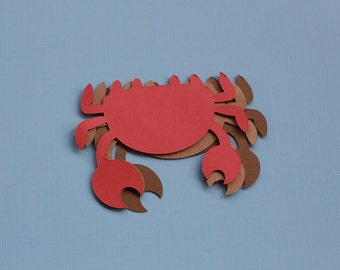 10 PAPER CRABS/ any color