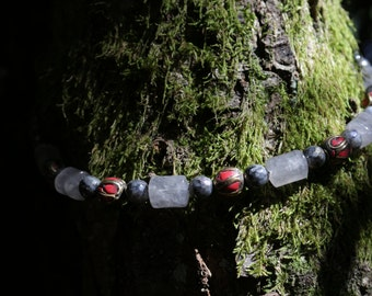 "Crystal healing, ""Release and Protection"" necklace jewelry"