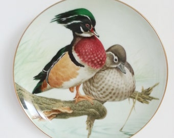 John Francis 'The Forest Year' Porcelain Decorative Plate