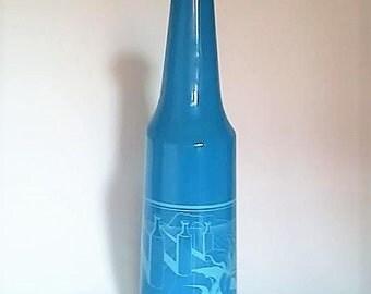 Bottle illustrated by Salvador Dali