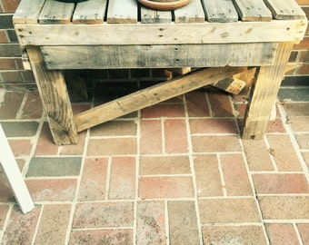 Reclaimed Rustic Table