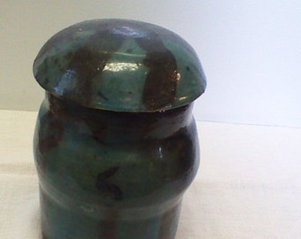 Original Ceramic vase/covered jar