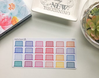 F050/ Laptops Planner Stickers