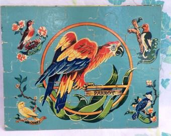 Parrot Puzzle, Children's Puzzle