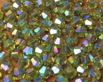 Spanish Olive AB Color Bicones #440AB
