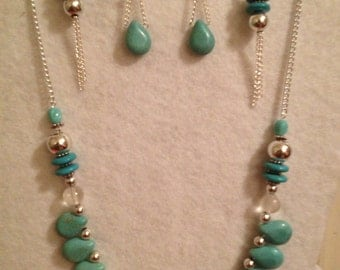 Jewelry Set Necklace and Earring Set