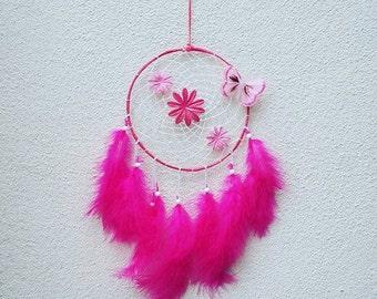 Dream catcher / Dreamcatcher pink and white