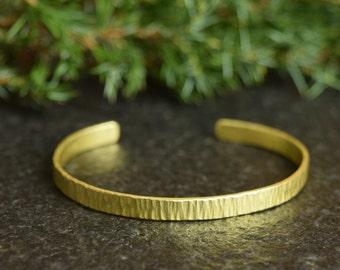 Hammered Cuff, Brass Bracelet, Metal Bangle, Hammered Bangle, Stacking Bangles, Hammered Bracelets, Textured Jewelry