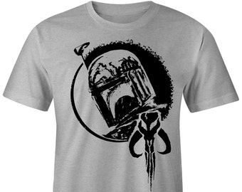 Youth Boba Fett T-shirt, Star Wars T-shirt, Bounty Hunter T-shirt, Boba Fett Tee, Star Wars Tee, Mandalorian,