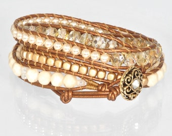 Twilight Bracelet Chan Luu Ladies Bracelet Gold Jewelry Wrap Bracelet Copper Bracelet for Women Womens Bracelet Gold Bracelet for Women