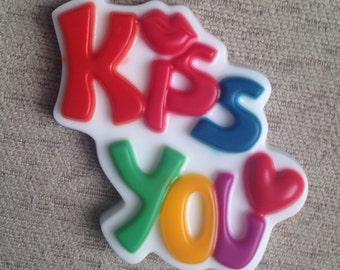 "Handmade Soap ""Kiss You"""