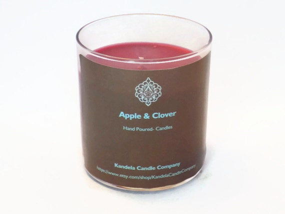 Apple and Clover Scented Candle 13 oz. Straight Tumbler