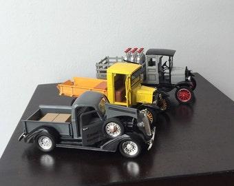 3  Die Cast Trucks
