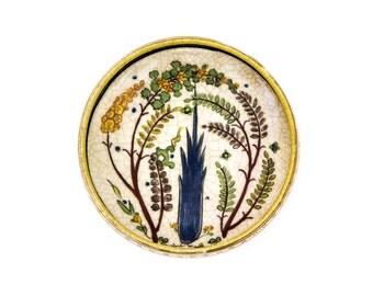 Persian Pottery Bowl 17th Century Replica
