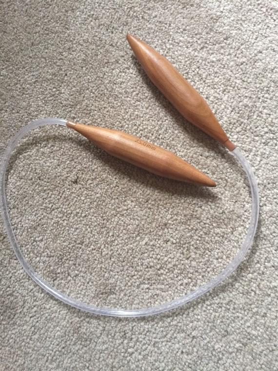 Rope Knitting Needles : Mm circular knitting needles bamboo