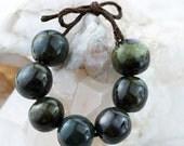 Mixed glaze porcelain bead set-Ronnie's beads
