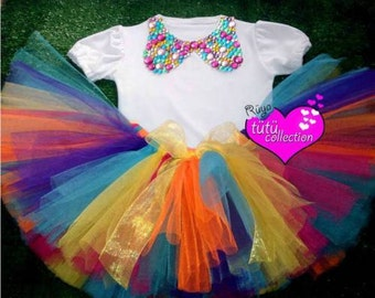 Colourful Tutu Dress For Your Birthday