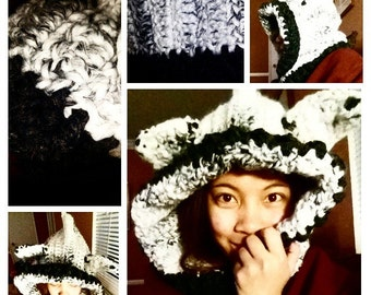 Animal Hood and Cowl