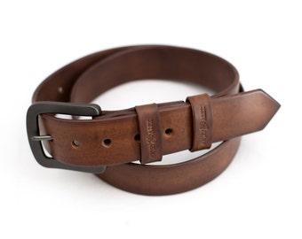 Leather belt, leather belt men, women belt, Brown leather belt, Leather belt handmade, Men's Leather Belt, Rustic Leather Belt