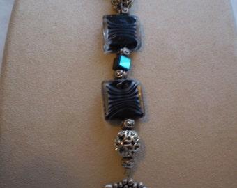 Handmade Zebra Pattern Bracelet