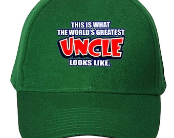 The World's Greatest Uncle Baseball Hat #116