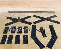 Mature Audience only: Saint Andrew's Cross hardware kit build your own.