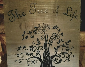 Tree of Life wood art