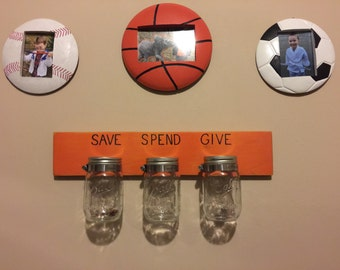 Children's Allowance Chore Money Organizer Display