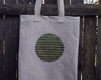 Tote Bag, Market Bag, Reusable Bag, Eco Friendly Bag, Hand Painted Bag