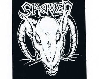 Skaven Band Logo Patch Crust Punk Patches