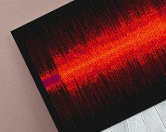 Sheryl Crow - All I Wanna Do - 24x8 Canvas, Poster or Digital Image - Free P&P, Sound Wave Art, Audio Art