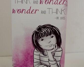 Adventures with Josie Thinking- Pink