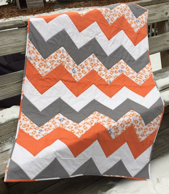 Chevron Pattern Quilt