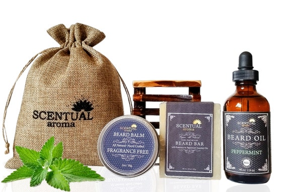 organic beard care kit vegan beard kit grooming gift set. Black Bedroom Furniture Sets. Home Design Ideas