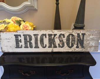 Last Name Sign, wood last name sign, Wedding Established Date Family Established Sign Personalized Sign Barn Wood Sign Rustic Home Decor