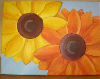 Sunflowers original painting