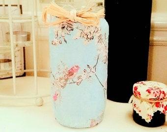 Pretty little vintage tea light jars