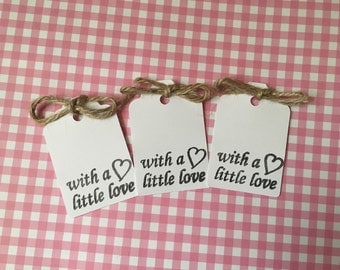 With a little love tags crafts / handmade