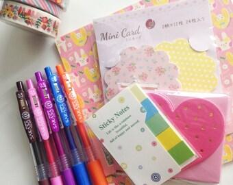 selected Japanese stationery box!