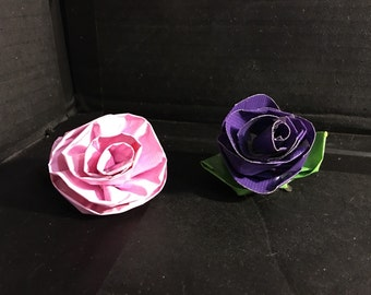 Rose hair tie or clip