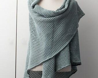Olive green shawl