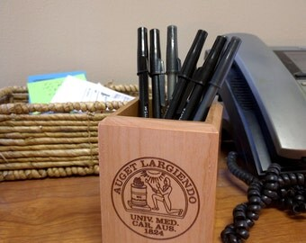 Maple Pen and Pencil Holder