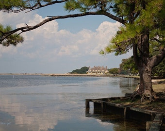 Corolla, photograph, photo, scenic, art print, Outer Banks, North Carolina, Currituck Bay, OBX, home decor, wall decor, gifts, housewarming
