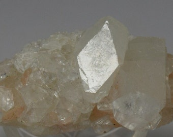 Healing Crystal Natural Stilbite Apophyllite Reiki Chakra Mineral